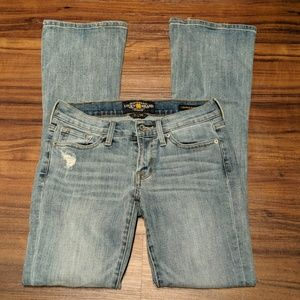Lucky Brand Charlie Baby Boot Jeans Size 2